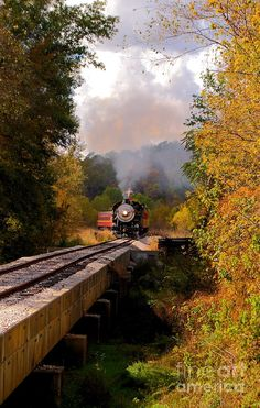 Trains...... Through The Valley....