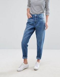 Only | Only Mom Jeans Minimal Fashion New york fashion #newyork #minimal #fashion