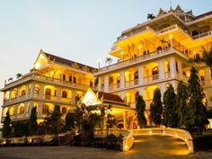 Pakse Champasak Palace Hotel Laos, Asia Champasak Palace Hotel is conveniently located in the popular Xe Don River Front area. The hotel has everything you need for a comfortable stay. All the necessary facilities, including free Wi-Fi in all rooms, 24-hour security, daily housekeeping, gift/souvenir shop, photocopying, are at hand. Comfortable guestrooms ensure a good night's sleep with some rooms featuring facilities such as slippers, complimentary instant coffee, television...