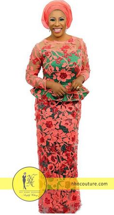 Red soles or not, let's leave positive footprints anywhere we go. Nigerian Lace Styles, African Lace Styles, African Lace Dresses, African Fashion Dresses, Nigerian Fashion, African Blouses, Ghanaian Fashion, African Wear, African Attire