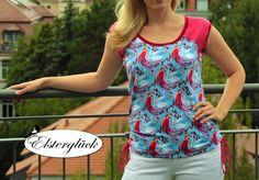 Elsterglück: Meine Spätsommerliebe: Raglan-Shirt RAFFINESSA jetzt endlich als eBOOK