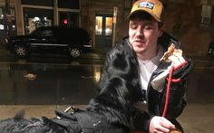 One recent night, Kiefer decided he wanted to go for a walk, at 1:30 in the morning. His Dad did what any dog lover would do: he granted Kiefer's wish.