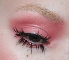 Doll eyes  plus some creasy goodness from a layer of lip balm by makeupmouse