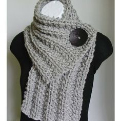 Crochet Scarf pinned by diy-crafts