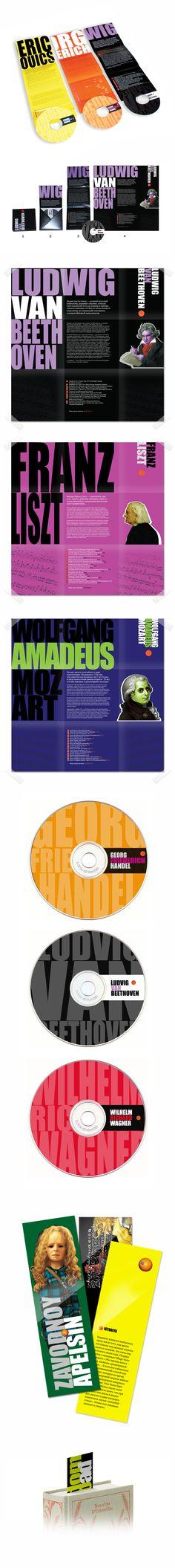 """A Clockwork Orage"" by Anthony Burgess – CD and bookmark design  2008  maximdesigner.com"