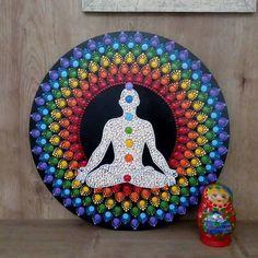 Dot Painting Tools, Dot Art Painting, Pebble Painting, Stencil Painting, 7 Chakras, Mandala Drawing, Mandala Painting, Hamsa Art, Buddha Wall Art