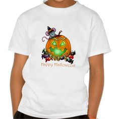 Happy halloween shirt for kids!