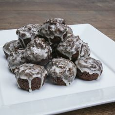 These yummy donut holes are courtesy of <i>Amanda Rettke of i am baker</i>.  Add these to your next brunch menu or whip up a batch as a fun snack for the family.