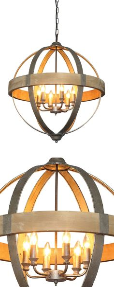 one kings lane carlton 5light pendant wood farmhouse light fixture chandelier rustic fixer upper farmhouse pinterest