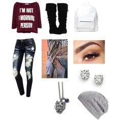 """""""winter outfit"""" by foreveryoung4319 on Polyvore"""