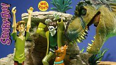 SCOOBY DOO Shaggy & Wolfman Friends & Foes Figures Vs Jurassic Park…
