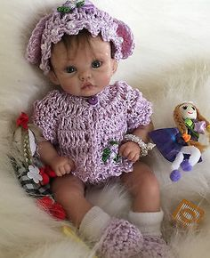 DOLL-CLOTHES-JACKET-BUNNY-SET-TO-SUIT-7-TO-8-POLYMER-CLAY-OOAK-DOLL