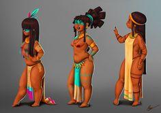 Natives Girls by Rosse.deviantart.com