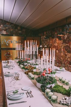 Christmas wedding ideas by Ioanna Vamvakari & Chlorofilli Flowers.  Venue Laas Estate (Athens, Greece) & photo by George Pahountis See more here https://www.pinterest.com/love4weddingsgr/ #christmaswedding #wedding #winterwedding #christmas