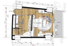 Hualuxe Haikou Hainan Resort Plan, Craftsman Floor Plans, Hotel Motel, Hotel Decor, Room Planning, Hotel Suites, Furniture Layout, House Plans, House Design