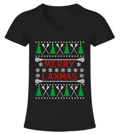 Men S Merry Laxmas - Lacrosse Ugly Christmas Sweater Style T-shirt Large Navy V-neck T-Shirt Woman jobs other Lacrosse Quotes, Jobs For Women, Types Of Collars, Sweater Fashion, Ugly Christmas Sweater, Sports Women, Mens Tees, Being Ugly, Types Of Sleeves