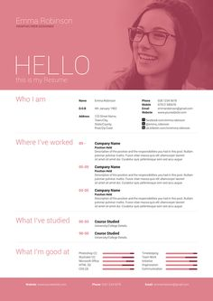 Simple yet high impact single page resume/cv and cover letter which comes in 5 different colours to help get you started!
