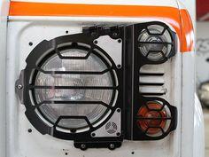Headlight & side-light guards