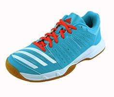 Adidas Essence 12 Womens Indoor Court Shoes Bright Cyan Blue 7 -- Be sure to check out this awesome product.