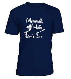 Mermaid hair don't care  #gift #idea #shirt #image #funnyshirt #bestfriend #batmann #supper # hot