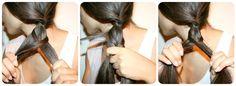Tutoriel coiffure : la tresse épi de blé