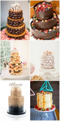 Top 22 Nontraditional Wedding Cake Ideas