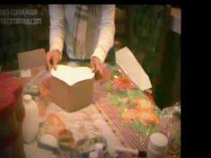 Como hacer cajas de carton con forma de corazon