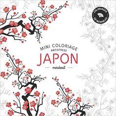 Japon : Mini coloriages antistress: Amazon.co.uk: Marabout: 9782501100632: Books