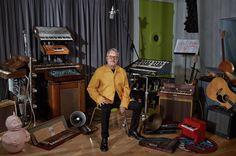 Mark Mothersbaugh at his studio, Mutato in West Hollywood, California. ©Ryan Schude