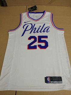 Men 25 Ben Simmons Jersey White Philadelphia 76ers Jersey Special 813cda7de