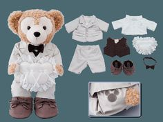 Duffy Costume (Ring Boy) ¥12,000 The set includes... Jacket, Shirt, Vest, Slacks, Bow Tie, Shoes and Ring Pillow