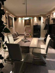 Luxurioser Essbereich Esszimmer Einrichtung Einrichtungsidee Esstisch Diningroom Interior
