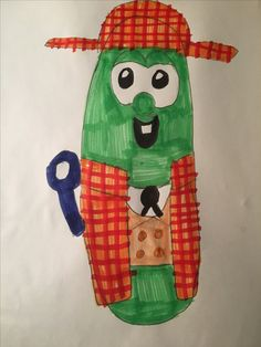 Sheerluck Holmes (Larry the Cucumber) from Sheerluck Holmes and the Golden Ruler