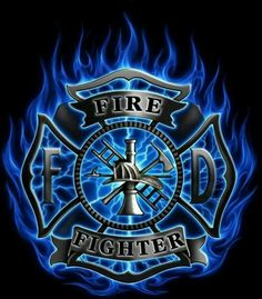 FireFighter!--this would look cool with a mirror behind hanging in my basement!!!
