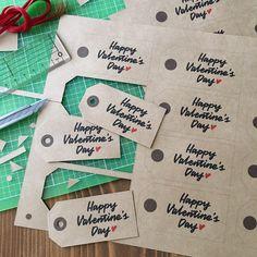 【デザイン無料配布】バレンタインで大活躍♪オリジナルギフトタグ  by TAM'S WORKS ARCH DAYS