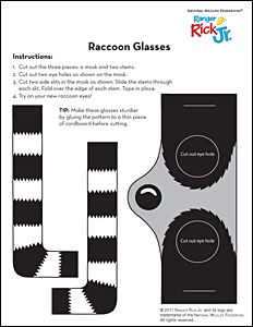 Raccoon Glasses - National Wildlife Federation