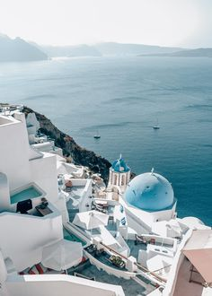 Santorini is known for its white towns and blue dome churches with Oia as the absolute highlight but also has a beautiful rough landscape. Dream Vacations, Vacation Spots, Oia Greece, Santorini Island Greece, Mykonos Island, Travel Photographie, Beautiful Places To Travel, Future Travel, Travel Aesthetic