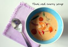 Tall girl's fashion // Thai red curry soup