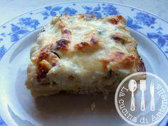 LA CUCINA DI ANTONELLA: Lasagne fatte in casa con asparagi e stracchino