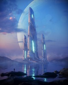 Futuristic Architecture Discover Strata Josh Pierce Strata Art by Josh Pierce On ArtStation. Cyberpunk City, Cyberpunk Kunst, Futuristic City, Futuristic Architecture, Cyberpunk Tattoo, Cyberpunk Aesthetic, Fantasy Art Landscapes, Fantasy Landscape, Fantasy Paintings