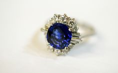 That Blue is totally you! #sapphire #vintage #somethingblue