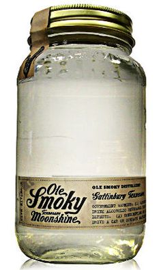 Moonshine! - I admit, I'm enthralled with the idea of making my own booze but I'd be happy to have a jar of this