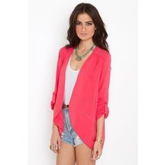 Perfect Summer blazer.....id put one with every outfit i wear. Love a blazer