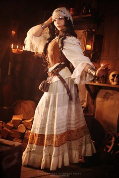 Steampunk <3 the gypsy look  Love this!!