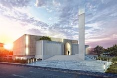 Mosque & Islamic Center on Behance