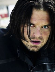 Bucky's eyes are my version of torture...