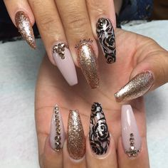 See this Instagram photo by @nailsbyly • 860 likes