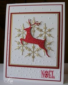 Image result for deer die cuts christmas cards
