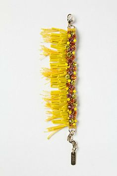 Ultraviolet Bracelet #anthropologie  Acrylic, Swor.  Crystal, and  brass.