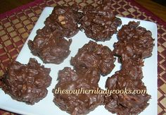 Chocolate Butterscotch Nutty Clusters -TSLC (maybe use peanut butter chips instead of butterscotch)